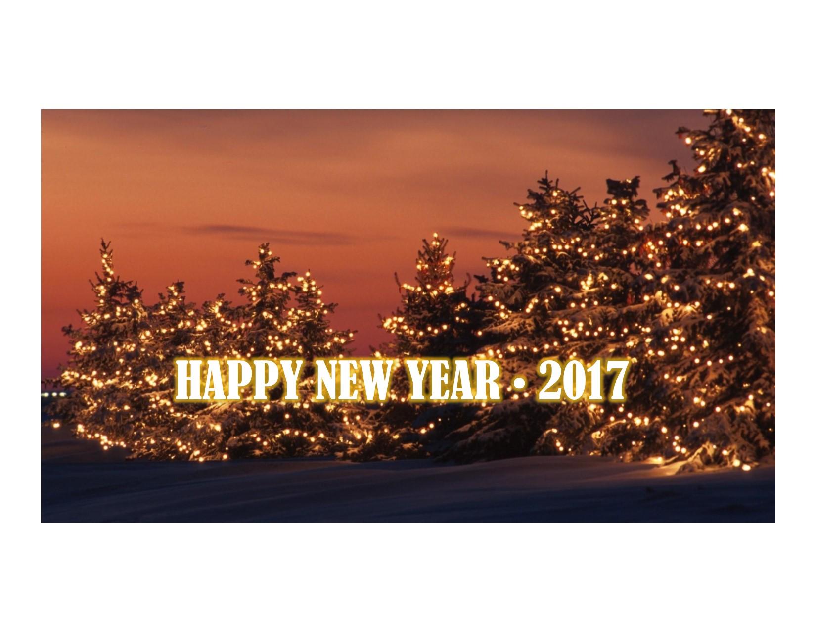 Happy New Year  2017 website